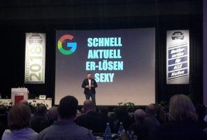 Marius Kaufhold erläutert die Möglichkeiten von Google.