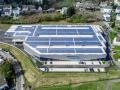Die neue Halle der bilstein group Engineering aus der Luft
