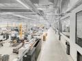 Blick in die Halle der bilstein group Engineering