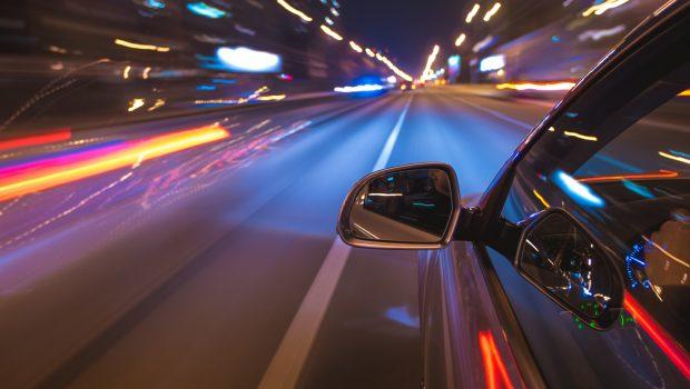 Außenspiegel am Auto