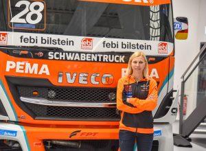 Neue Hauptfahrerin des Team Schwabentruck ist Steffi Halm.