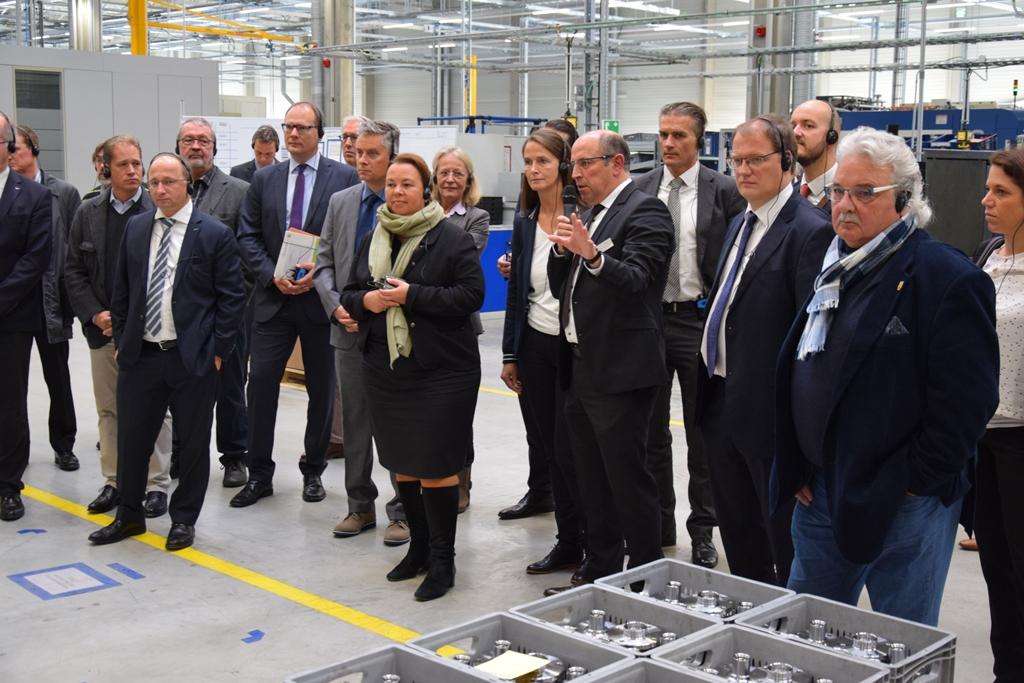NRW-Umweltministerin zu Besuch bei der bilstein group