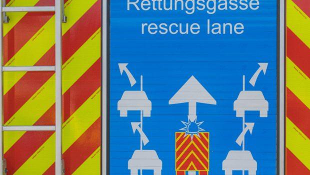 Rettungsgasse