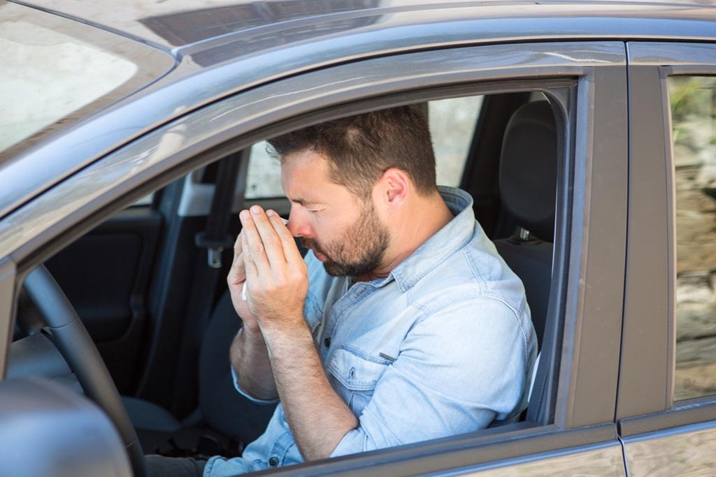 Innenraumfilter schützen Allergiker im Auto.