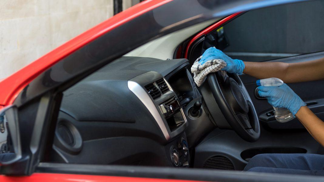 Auch im Auto spielt Hygiene aktuell eine wichtige Rolle.