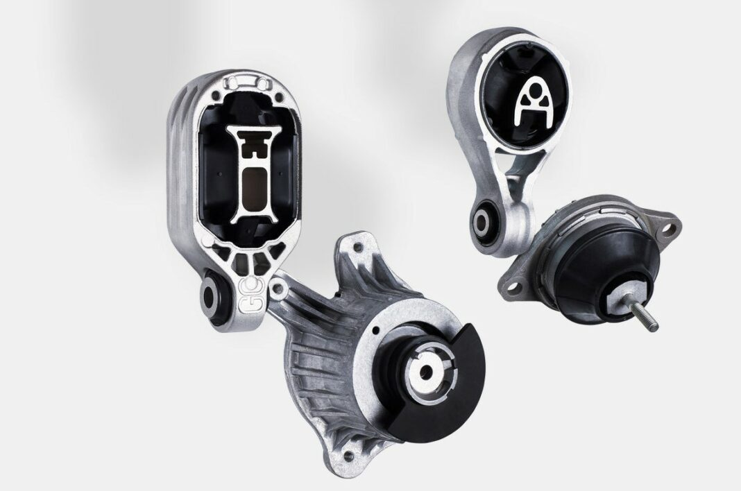 Engine mounting: febi offers one of the broadest ranges in the field of rubber to metal in the spare parts market.